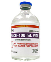 Practi-100 mL Vial™ (for training) 467PV