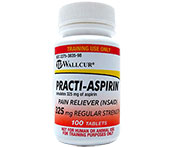 Practi-Aspirin 325 mg 681AS