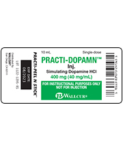 Practi-Dopamine HCI Peel & Stick Labels