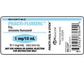 Practi-Flumazenil Peel & Stick Labels