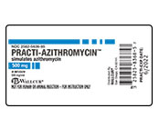 Practi-Azithromycin Peel-N-Stick Labels™ 9949ZTY