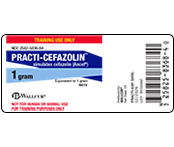 Practi-Cefazolin Labels™ 9950ANF