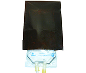 50/250 mL Amber IV Bag Covers 9203AB